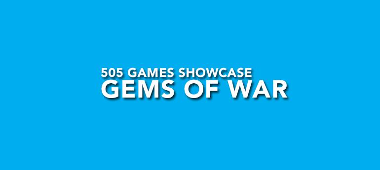 SHOW CASE 505 GEMS OF WAR
